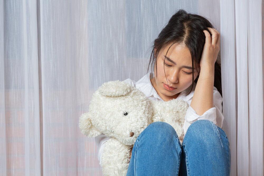 Snutné dieťa, ktoré bolí žalúdok