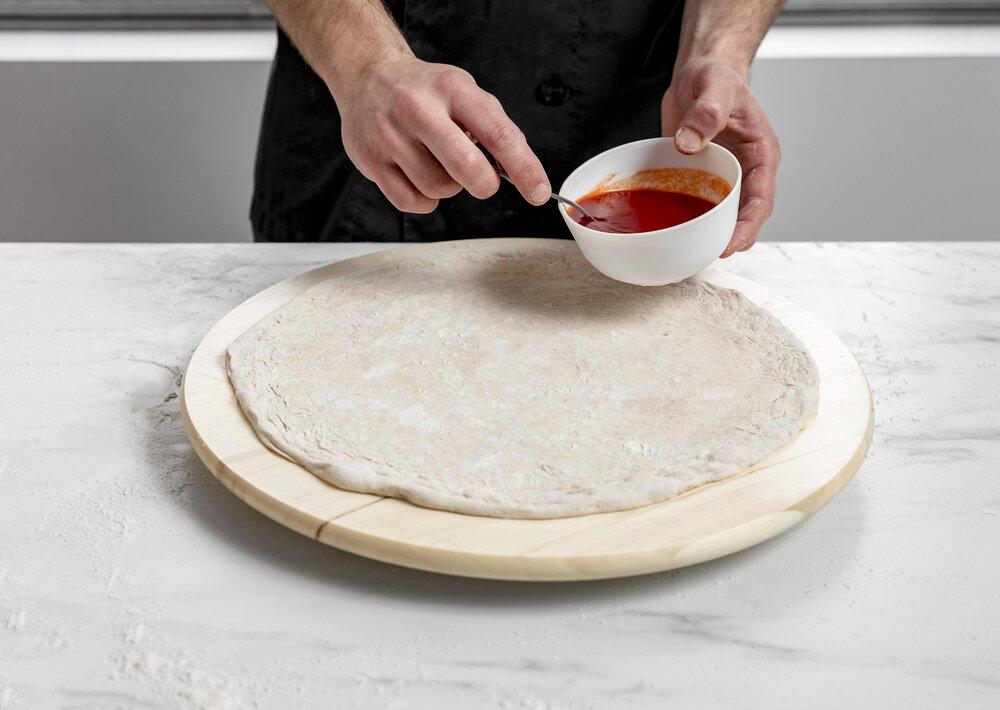 Rajčinový základ na pizzu